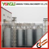 modern warehousing choose high accuracy poultry feed storage silo with long service time
