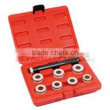 9PCS Heavy Duty Bushing Remover and Insert Kit, Under Car Service Tools of Auto Repair Tools
