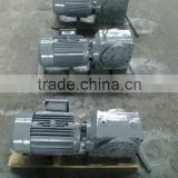SA62 helical worm gearbox with inline motor                                                                         Quality Choice