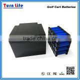 battery operated utility 12v lipo golf cart battery