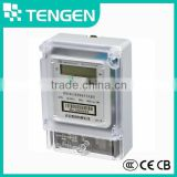 Best price DDS686L 220V 10-40A card single phase two wire digital electronic prepaid energy meter