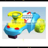 Plastic children plastic scooter mould,swing car mould