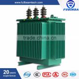 630KVA distribution outdoor 11kv toroidal tension 3 phase electrical power oil transformer