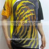 Stan Caleb custom dye sublimation tennis wear tennis shirts
