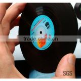 Save 10% 6pcs/Set Spinning Retro Vinyl CD Record Drinks Coasters