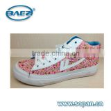 fabric shoe of high cut women casual shoes
