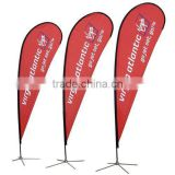 cross base flag banner stand
