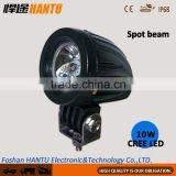 HANTU-Small size 1.5 inch round bike 4x4 led work light aluminum housing 10W round bike light clap light bar/HT-G01