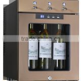 refrigerated wine dispenser for wine and vodka