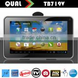 7 inch tablet price mini dtv with Allwinner A20 isdb-t tv Dual Core 1.3GHz two Camera Bluetooth Android 4.4 C