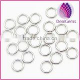Jump ring , stainless steel jump ring , 1.2*0.8 mm jump ring