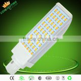 AC90V~277V G23 G24 E27 led plug light 12W led light bulb from China/led G24 plug light