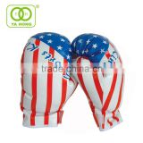 Custom twins mini America flag boxing gloves and baseball bat set