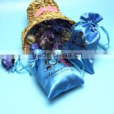 Yuanjie Brand Custom Made Colorful Various Custom Printed Satin Jewelry Pouches For Promotion