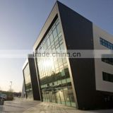 luxury aluminium curtain wall double glass wall facade panel