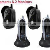 Wireless Interphone Security Color Camera Transmission for Villa