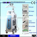 Portable Facial Machine 7in1 Oxygen Facial Skin Care Oxygen Water Oxygen Facial Equipment Jet Peel Machine For Salon Private Beauty Center