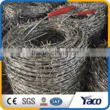 Beer fence top use construction building materials barbed wire