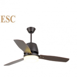 two color reverse function 110-240v ceiling fan with light kits