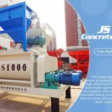 Competitive Price Js1000 Concrete Mixer With High Quality Uesed On Hzs Series Concrete Batching Plant