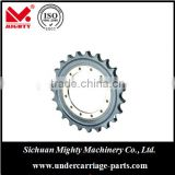 high quality construction machinery undercarriage parts track roller / chian link assy /pads and sprockets for Hyundai