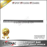 270W light bar offroad roof high power lighting for tow truck trailer tractor vehicles amber color available