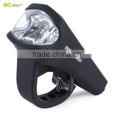 BASECAMP MTB Bicycle 3W LED Front Light Silica Gel Waterproof USB Rechargeable Lamp Bike Accessories