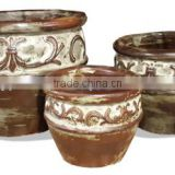New series Ourdoor Rustic pots for summer 2014, large pots for planting trees,clay pot for plants, large outdoor pots, ceramic