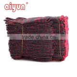 red palm Cotton safety gloves working gloves safety gloves work gloves knitted gloves, industrial gloves, garden gloves