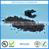 Recycled PP GF20 black plastic raw material/ polypropylene glass fiber filled plastic scrap