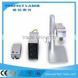 10W/ 20W portable mini fiber laser marking machine for bearing/metal parts/jewelry/plastic/bird ring manufature