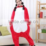 flannel cartoon adult animal jumpsuit animal pajamas jumpsuit