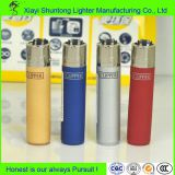 Gas Style Smoking Transparent Plastic Clipper Lighter