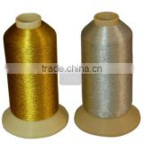 fabric metallic embroidery threads for clothes with good quality