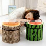 Storage Stool Plush Fruit Storage Boxes Household Supplies