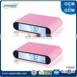 High quality silicone flip digital alarm clock