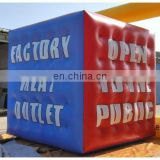 cube inflatable PVC balloon/helium balloon/promotional balloon/ PVC advertising balloon/helium cube/sphere/event ball/blimp