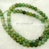 Chrysoprase 6mm round beads/Quartz Gemstone Beads/Natural gemstone beads suppliers/Semi Precious Gemstone Beads
