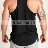 Wholesale Custom Oem Men's Fashion Gym Singlets - y back gym singlets - plain gym singlets
