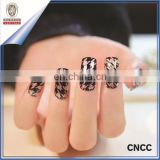 2D Water transfer printing nail art stickers and decals custom nail suppliers