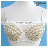 Bailange 2015 Newest unique sexy lady crochet bra large cup bra