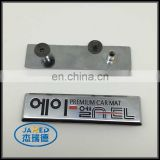 custom pin badge korean letter nameplate