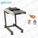Multepak The Newest High Speed Manual Whole Chicken Bird Bag Blow Open Package Machine for Poultry Bread and Bird