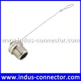 M12 male dust cap with customized wire length
