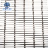 Plain weave decorative mesh