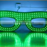 2015 new electronics inventions illuminated led glasses sign, neon led glasses sign                                                                         Quality Choice