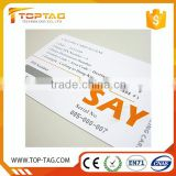 Barcode Printing Paper/PVC Prepaid Scratch Calling Card Low Price