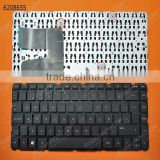 Laptop Keyboard For HP Pavilion 14-E BLACK(Without Frame,Without Foil,With 3 screws, For Win8),SP Layout