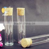 glass tube with wood cork, cork stoppered vial,empty glass bottle, cork stoppered tube                                                                         Quality Choice