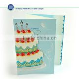 High quality modern birthday card invitation manufacture